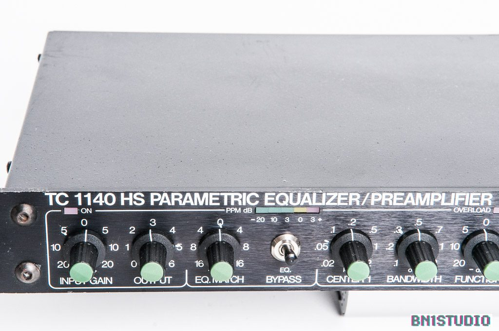 TC Electronic 1140 HS Parametric Equaliser / Preamplifier