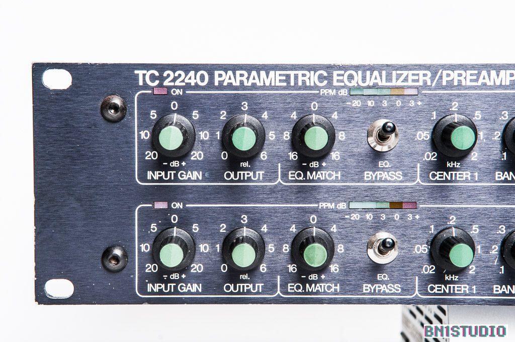 TC Electronic 2240 Stereo Equaliser