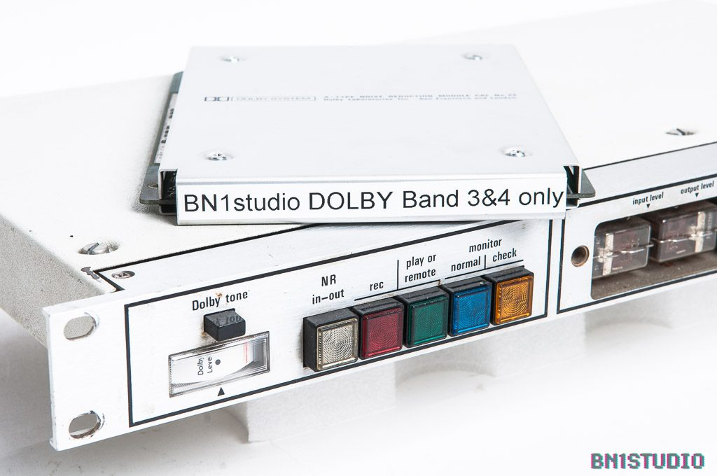 Dolby 361 with Modified Cat 22 Dolby Trick Card