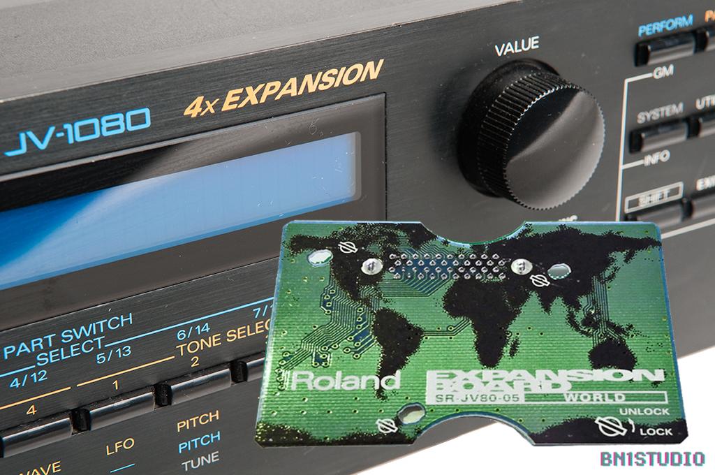 Roland JV-1080 + World Expansion Bundle