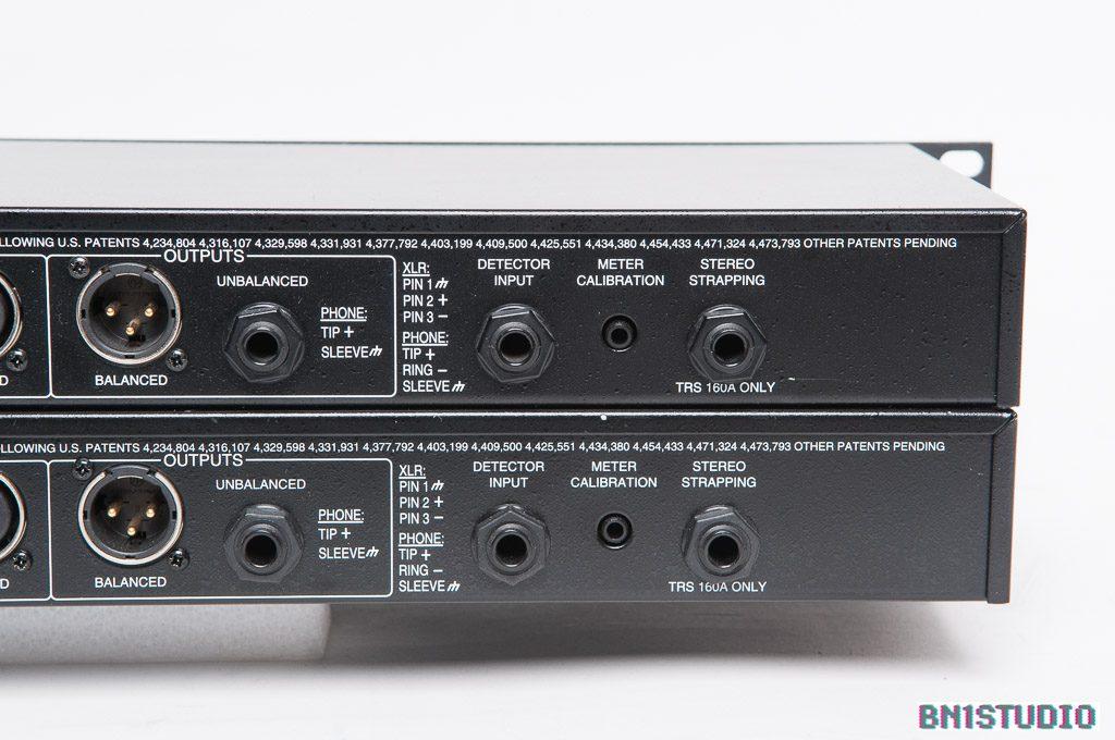 dbx 160A stereo pair