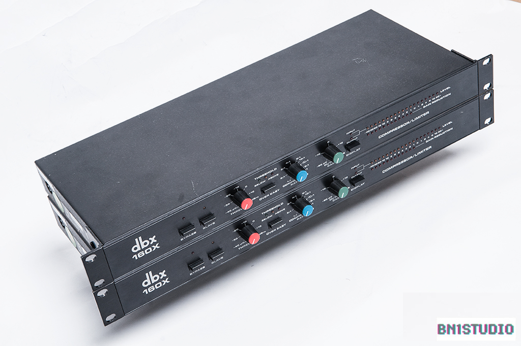 dbx 160X stereo pair with sequential serial numbers
