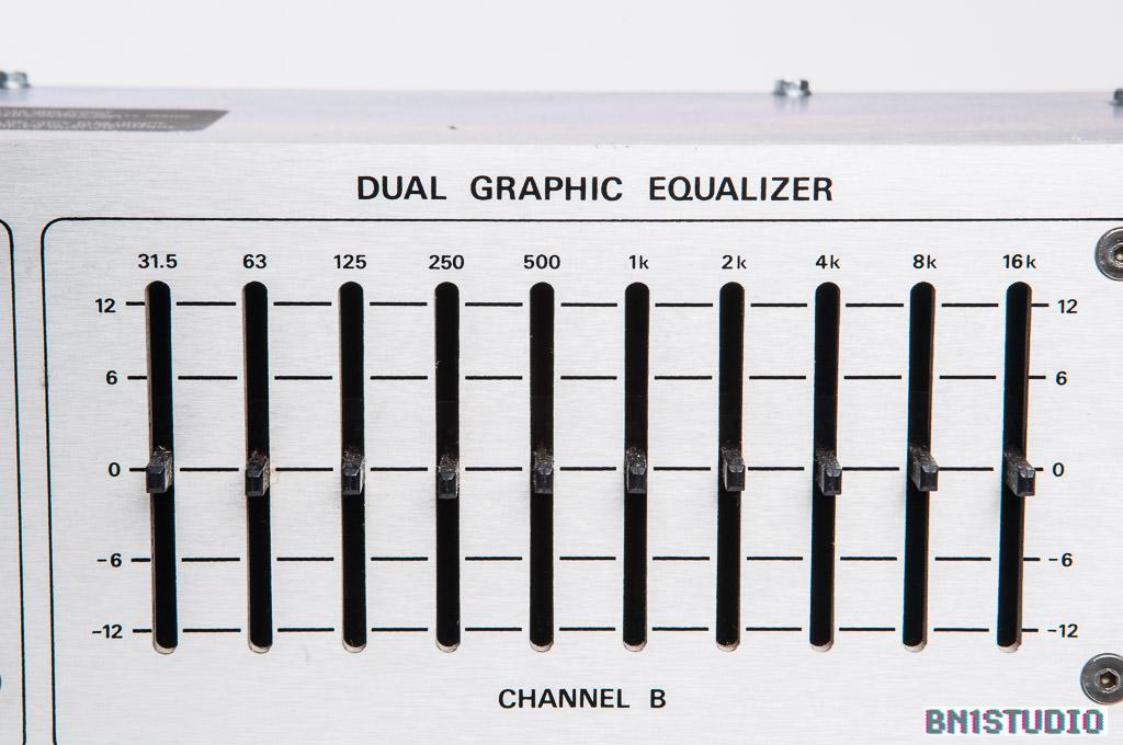 UREI 535 Dual Graphic Equaliser   Bn1studio