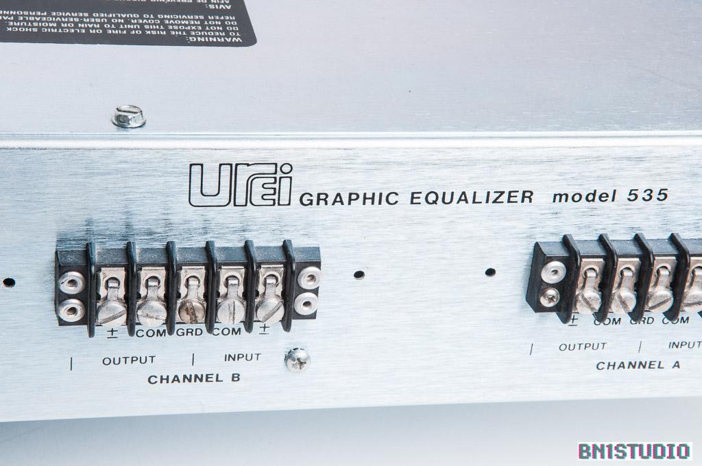 UREI 535 Dual Graphic Equaliser | Bn1studio