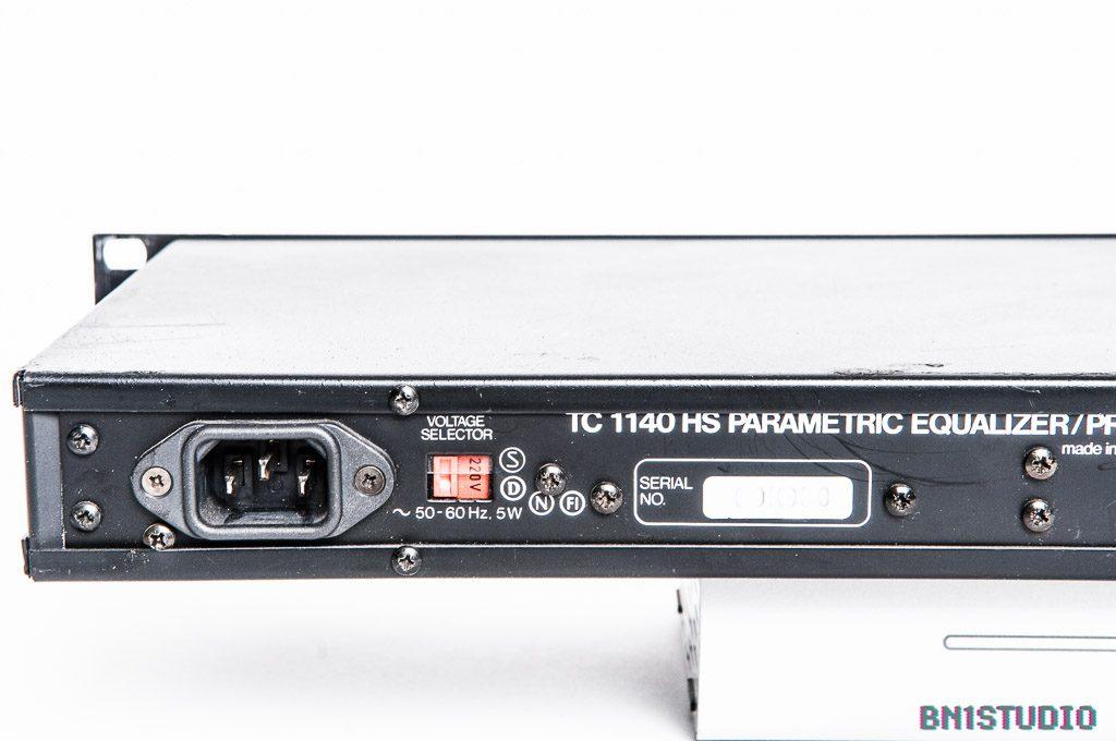 TC Electronic 1140 HS Parametric Equaliser / Preamplifier