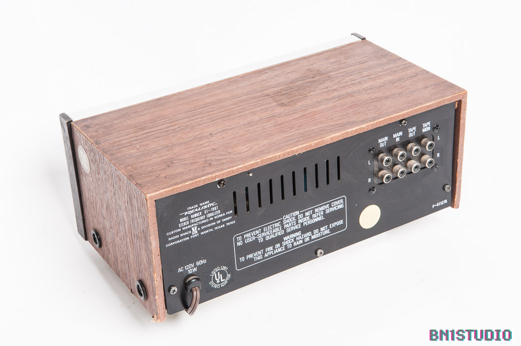Realistic Stereo Frequency Equaliser