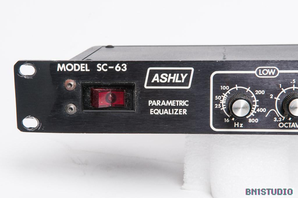 Ashly SC-63 Parametric Equaliser