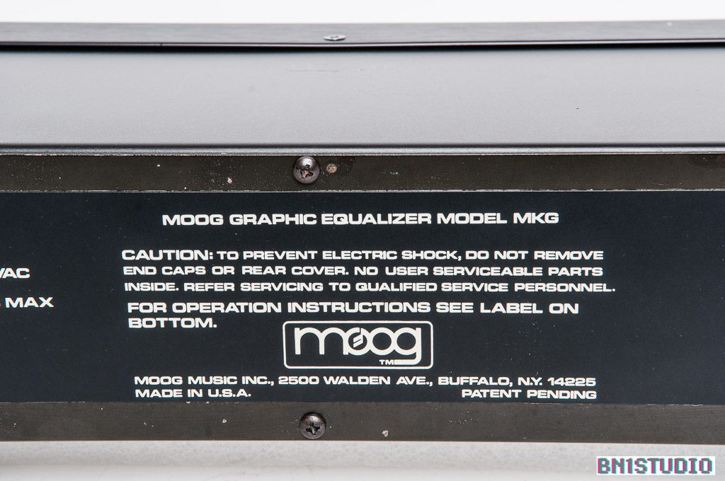 Moog MKP Ten Band Graphic Equaliser