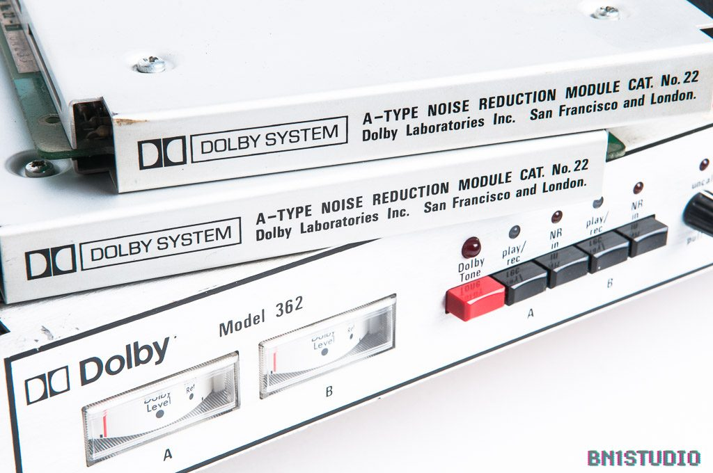 Dolby 362 with two Cat 22 cards