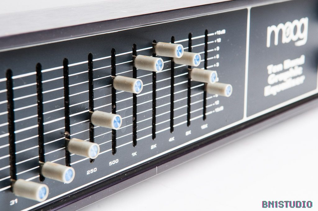 Moog MKP Ten Band Graphic Equaliser